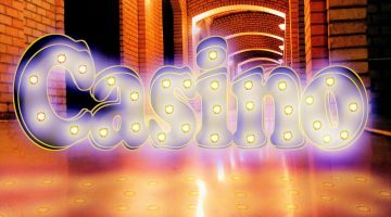 casino with lights